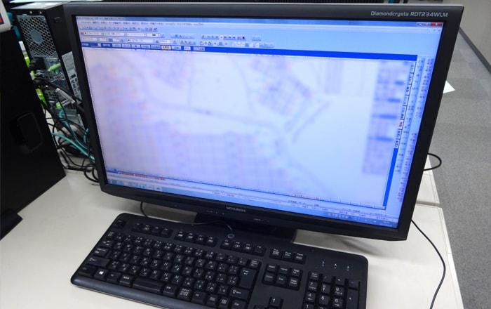 地積確定測量の流れイメージ01